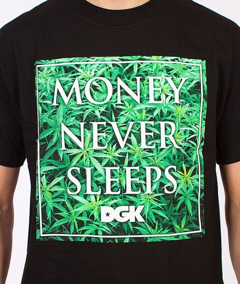 DGK-Money Field T-Shirt Czarny