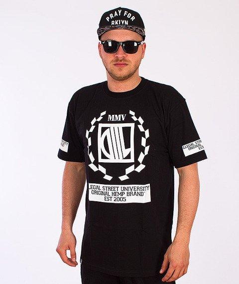 DIIL-Diil Laur T-shirt Czarny
