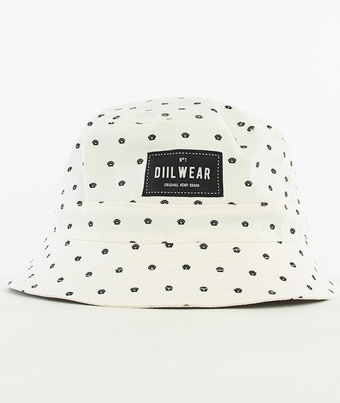 DIIL-Diil Wear No1 Bucket Hat Biały