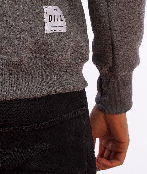 DIIL-Reglan Brand Bluza Kaptur Szara