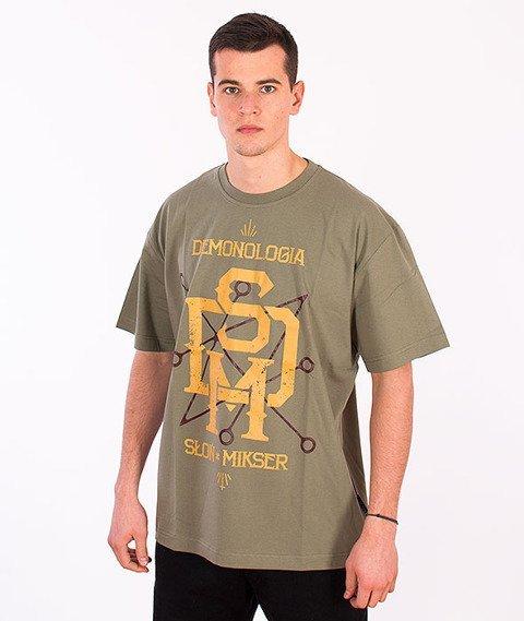 Demonologia-DSM T-shirt Oliwkowy