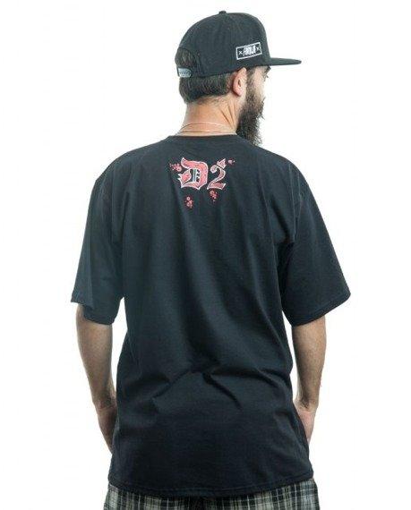 Demonologia-Scissors T-Shirt Czarny
