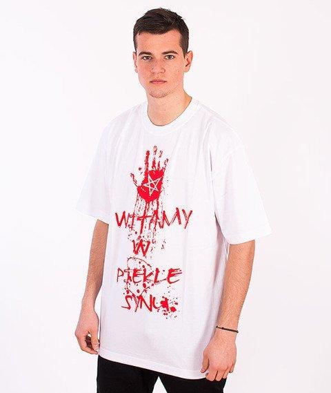 Demonologia-Witamy W Piekle T-shirt Biały
