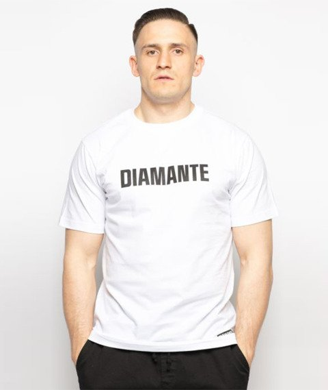 Diamante-Best Friend, Worst Enemy T-Shirt Biały