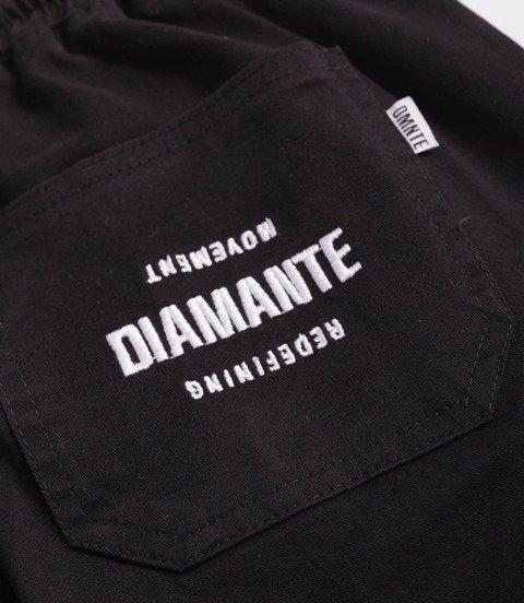 Diamante-Classic Jogger Jeans RM Spodnie Czarne