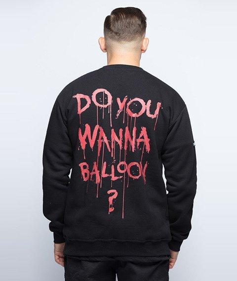 Diamante-Do You Wanna Balloon? Bluza Czarna