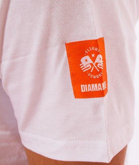 Diamante-Drop It Like It's T-Shirt Biały