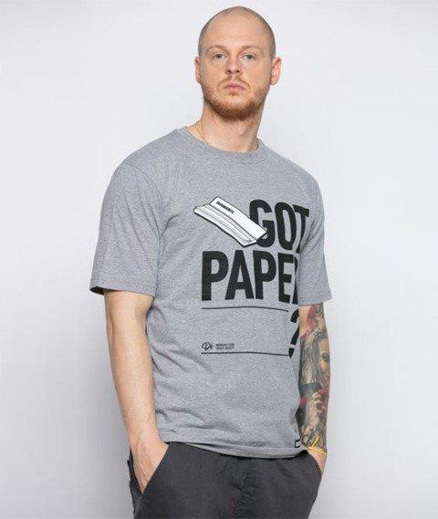 Diamante-Got Paper T-Shirt Szary