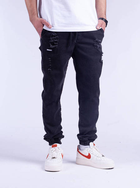 Diamante JOGGER 12 Ripped Black