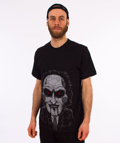 Diamante-Play A Game T-Shirt Czarny
