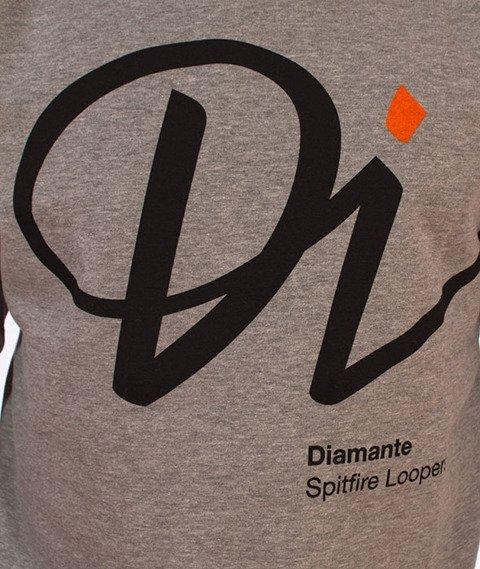 Diamante-Spitfire Bluza Szara
