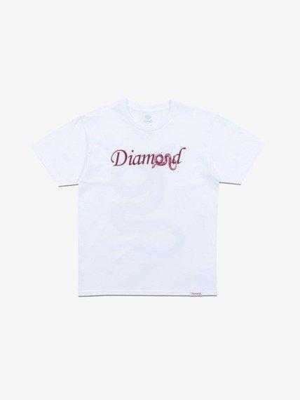 Diamond COLD BLOODED T-Shirt Biały