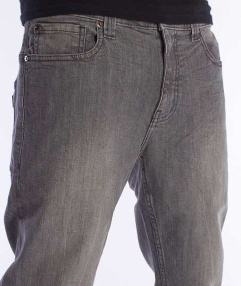 Dickies-Louisiana Spodnie Jeans Bleached Grey