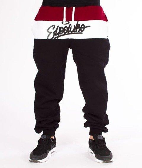 El Polako-3 Colors Regular Spodnie Dresowe Czarny