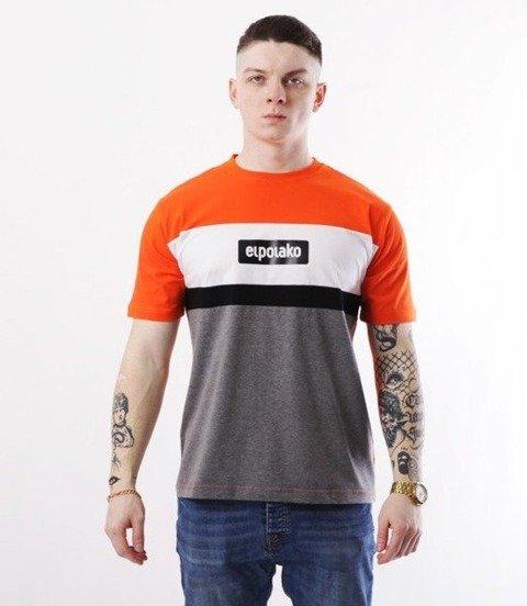 El Polako-3EP CUT T-Shirt Pomarańczowy