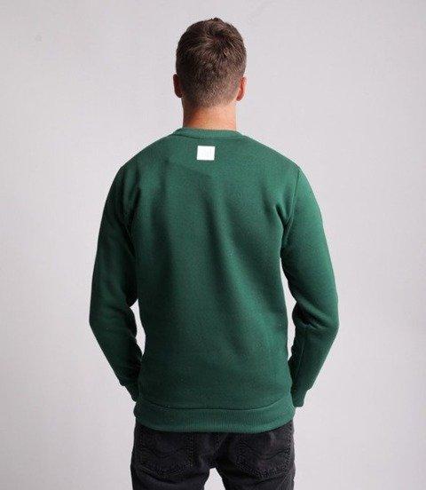 El Polako 7xELPO Bluza Ciemny Zielony