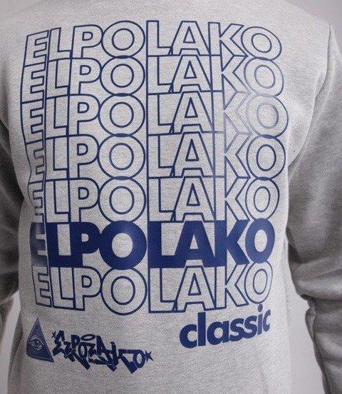 El Polako 7xELPO Bluza Szary