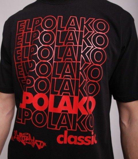 El Polako 7xELPO T-Shirt Czarny