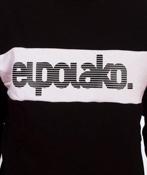El Polako-Alfabet Bluza Czarna