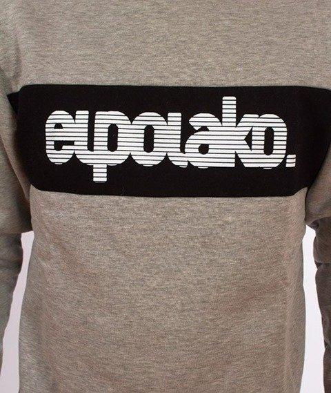 El Polako-Alfabet Bluza Szara
