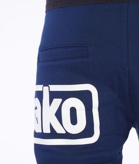 El Polako-Below Fit Spodnie Dresowe Granatowe