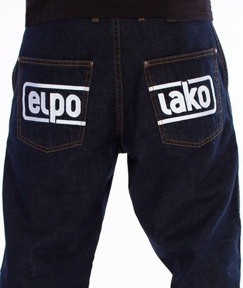 El Polako-Below Regular Jogger Spodnie Dark Blue