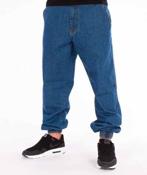 El Polako-Below Regular Jogger Spodnie Light Blue