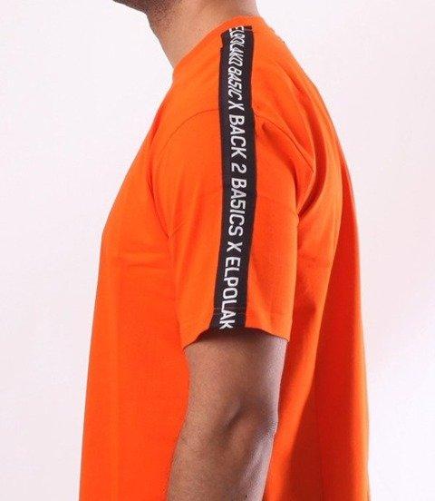 El Polako-Box Style T-Shirt Pomarańcz