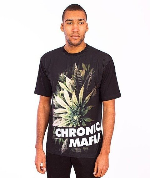 El Polako-Chronic T-Shirt Czarny/Multikolor