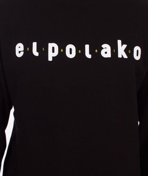 El Polako-Classic Bluza Czarna