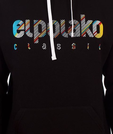 El Polako-Classic Line Bluza Kaptur Czarny