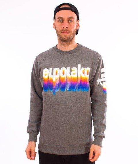 El Polako-Colors Crewneck Bluza Ciemny Szary