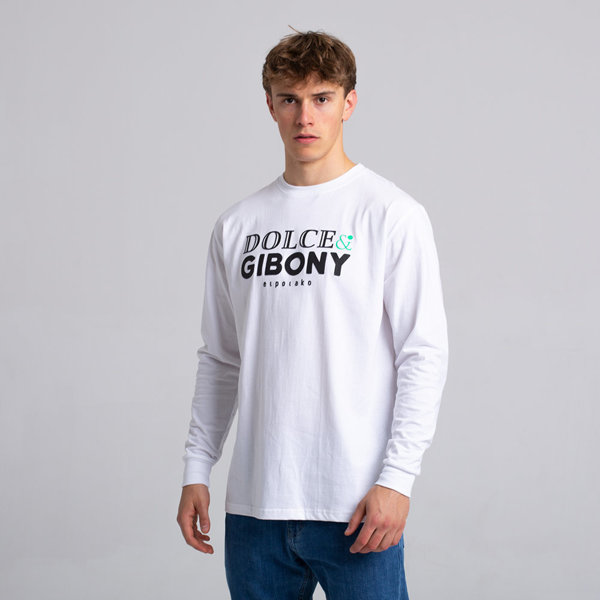El Polako DOLCE&GIBONY Longsleeve Biały