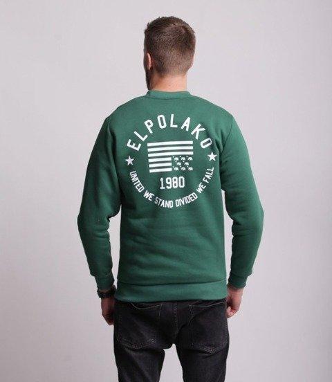 El Polako EL POLAKO 1980 Bluza Ciemny Zielony