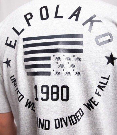 El Polako EL POLAKO 1980 T-Shirt Szary