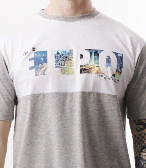 El Polako-ELPO Cut City T-Shirt Szary