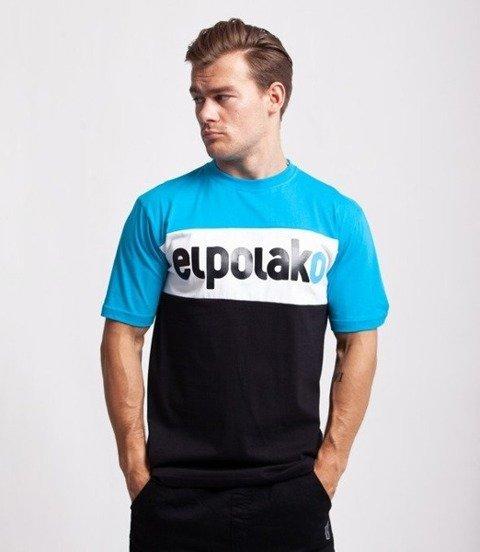 El Polako ELPO NEW T-Shirt Błękitny