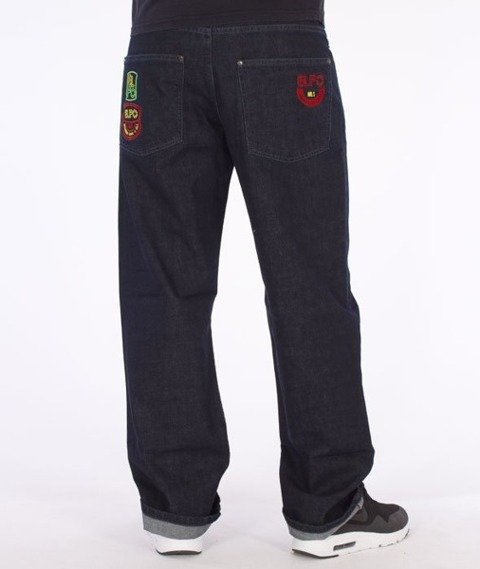 El Polako-ELPO Regular Jeans Dark Blue