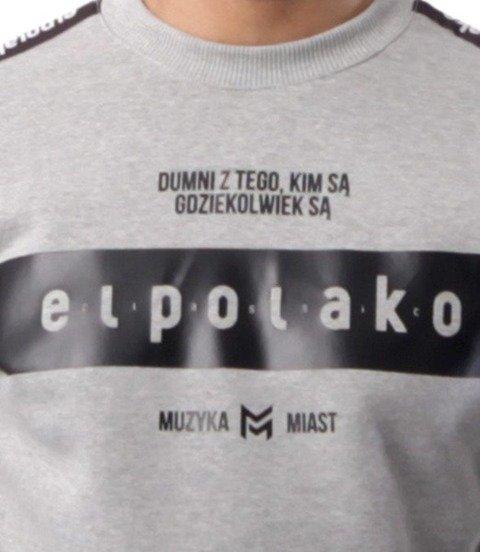 El Polako-EP Belt Bluza Szary