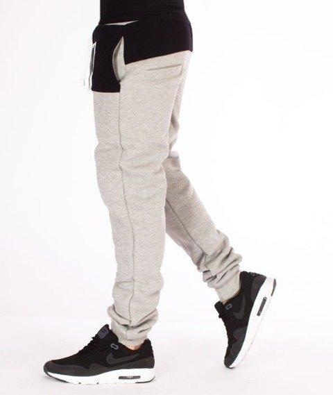 El Polako-EP Classic Style Fit Spodnie Dresowe Szare