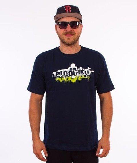 El Polako-EP Paint T-Shirt Granatowy