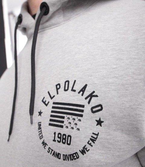 El Polako El Polako 1980 Bluza z Kapturem Szary
