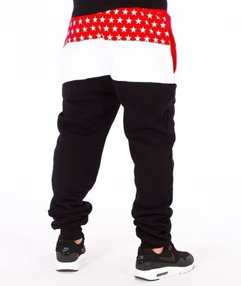El Polako-El Polako Cut Fit Spodnie Dresowe Czarne