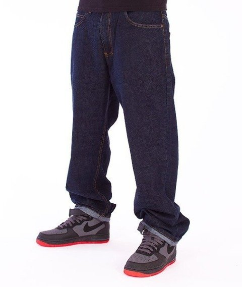El Polako-Expedition Regular Jeans Dark Blue