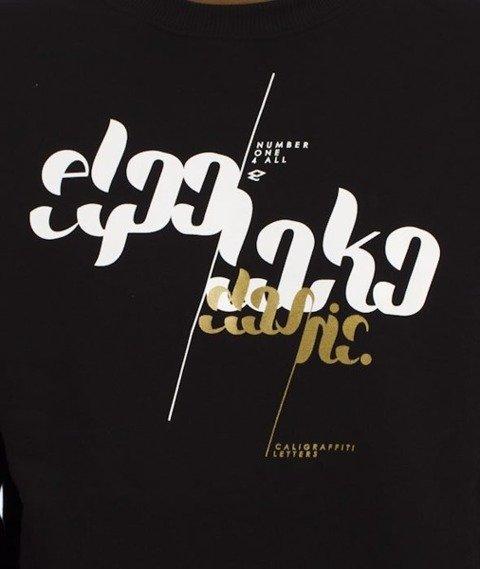 El Polako-Font Bluza Czarna
