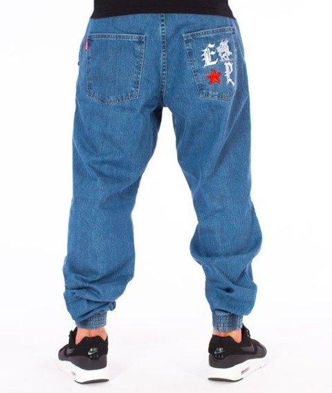 El Polako-Gotyk Regular Jogger Spodnie Light Blue