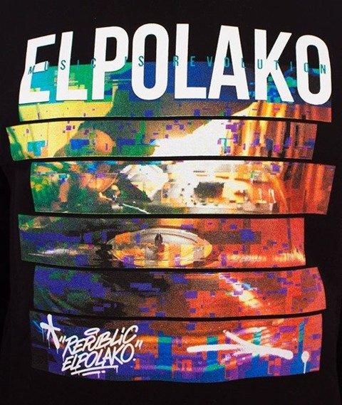 El Polako-Gramofon Bluza Czarna