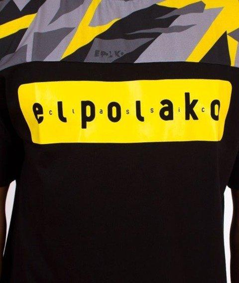 El Polako-Half Triangle Moro T-Shirt Yellow