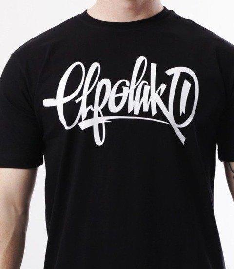 El Polako-Handmade T-Shirt Czarny