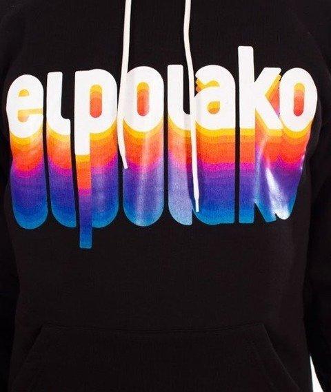 El Polako-Kangurka Colors Bluza Kaptur Czarny